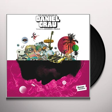 MAGIC SOUND OF DANIEL GRAU Vinyl Record - UK Release