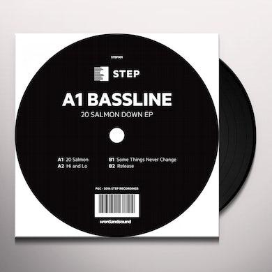 A1 Bassline 20 SALMON DOWN EP Vinyl Record