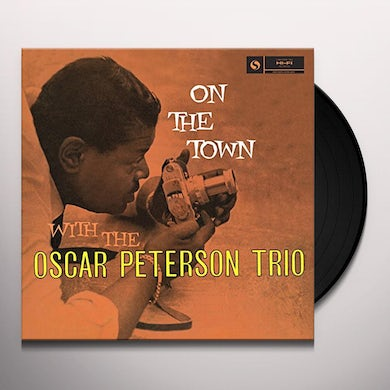 Oscar Peterson ON THE TOWN Vinyl Record