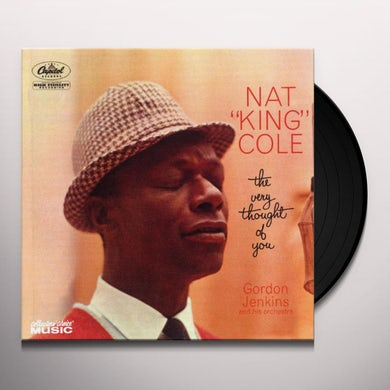 Nat King Cole VERY THOUGHT OF YOU Vinyl Record