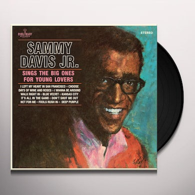 Sammy Davis Jr SINGS THE BIG ONES FOR YOUNG LOVERS Vinyl Record