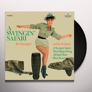 SWINGIN' SAFARI Vinyl Record