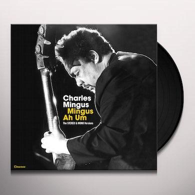 Charles Mingus MINGUS AH HUM: ORIGINAL STEREO & MONO VERSIONS Vinyl Record