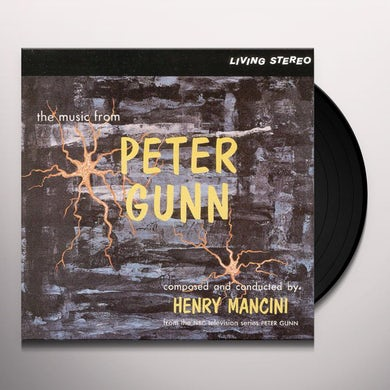 MUSIC FROM PETER GUNN - Original Soundtrack Vinyl Record