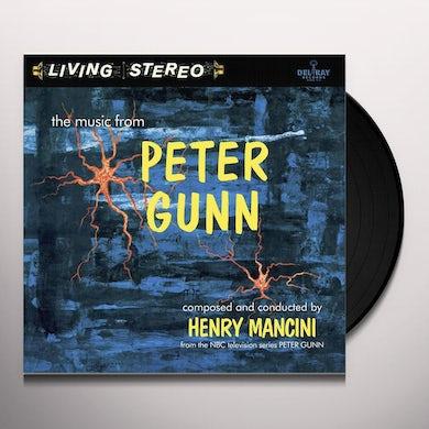 Henry Mancini MUSIC FROM PETER GUNN - Original Soundtrack Vinyl Record