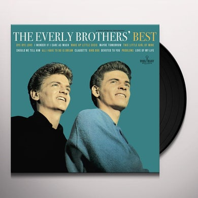 The Everly Brothers' BEST Vinyl Record