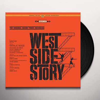 Leonard Bernstein WEST SIDE STORY / Original Soundtrack Vinyl Record