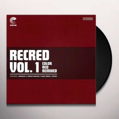 Recred Vol. 1: Color Red Remixed / Various RECRED VOL. 1: COLOR RED REMIXED (EP) / VARIOUS Vinyl Record