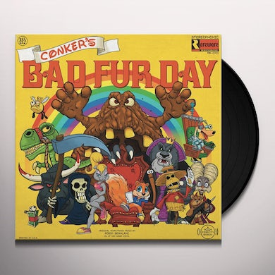 Robin Beanland CONKERS BAD FUR DAY / Original Soundtrack Vinyl Record