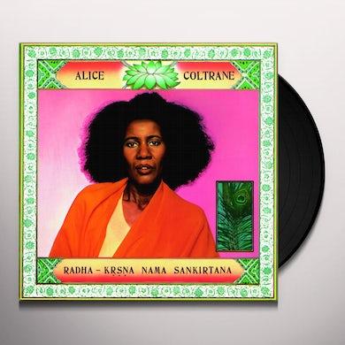 Alice Coltrane RADHA-KRSNA NAMA SANKIRTANA Vinyl Record