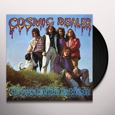 Cosmic Dealer CRYSTALLIZATION Vinyl Record