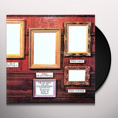 Emerson, Lake & Palmer PICTURES AT AN EXHIBITION Vinyl Record - Holland Release