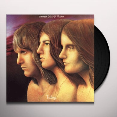 Emerson, Lake & Palmer TRILOGY Vinyl Record - 180 Gram Pressing