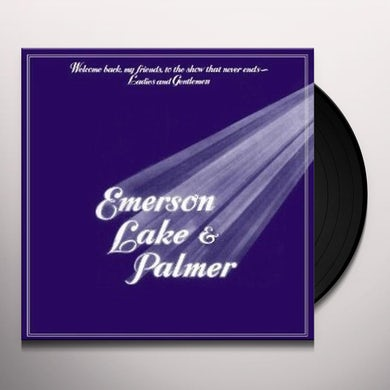 Emerson, Lake & Palmer WELCOME BACK MY FRIENDS Vinyl Record