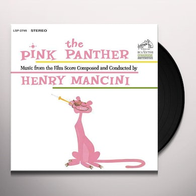 Henry Mancini PINK PANTHER (MUSIC FROM THE FILM SCORE) Vinyl Record
