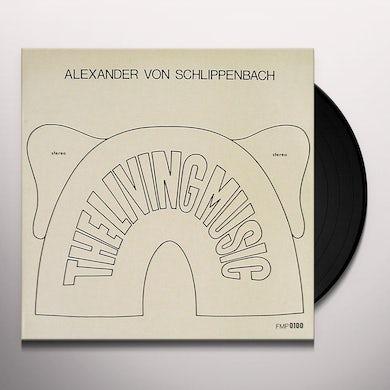Alexander Von Schlippenbach LIVING MUSIC Vinyl Record
