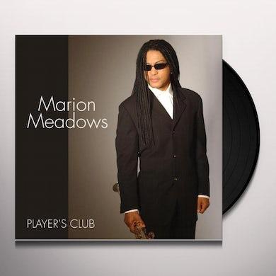 Marion Meadows PLAYERS CLUB (HYBRID) Vinyl Record
