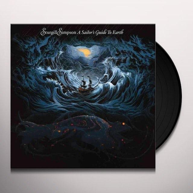 Sturgill Simpson SAILOR'S GUIDE TO EARTH Vinyl Record