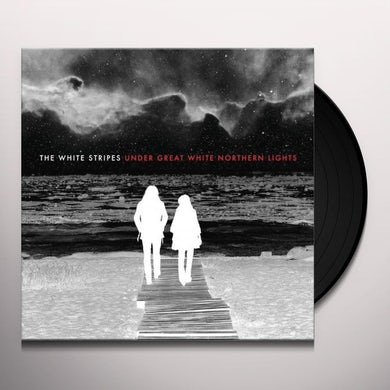 The White Stripes UNDER GREAT WHITE NORTHERN LIGHTS Vinyl Record