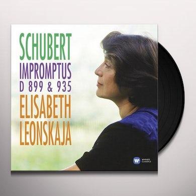 Elisabeth Leonskaja SCHUBERT: IMPROMPTUS Vinyl Record