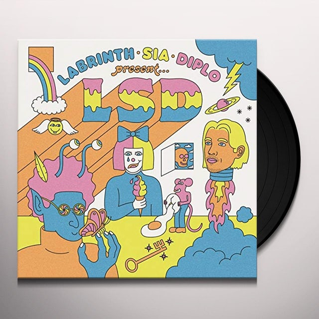 LSD LABRINTH SIA & DIPLO PRESENT Vinyl Record