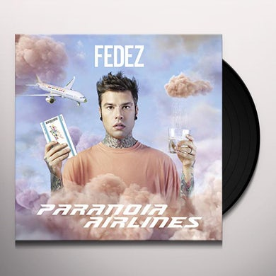 Fedez PARANOIA AIRLINES Vinyl Record