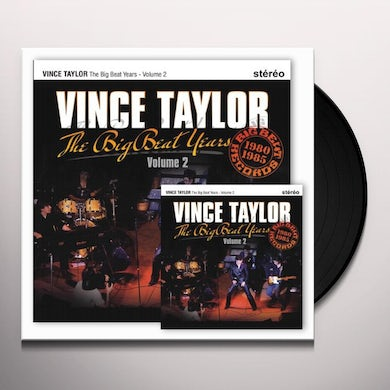Vince Taylor THE BIG BEAT YEARS 2 Vinyl Record