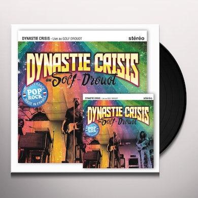 Dynastie Crisis LIVE AU GOLF DROUOT Vinyl Record - Canada Release