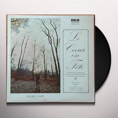 Andre Popp LE COEUR EN FETE Vinyl Record