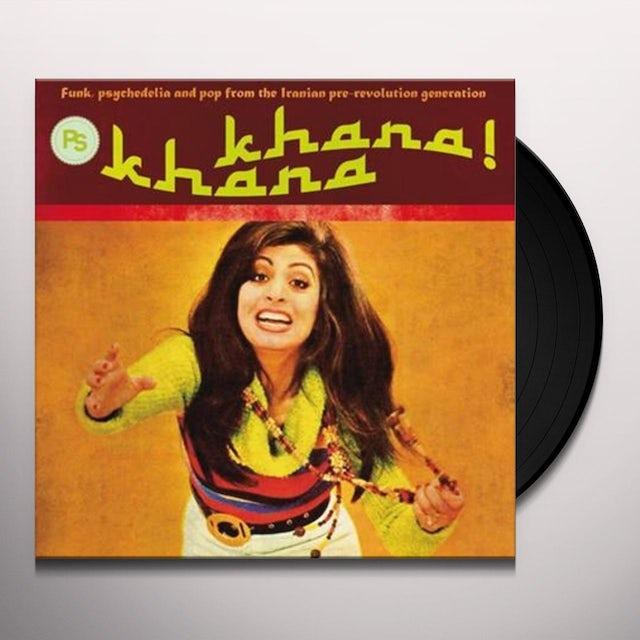 Khana Khana: Funk Psychedlia & Pop Iranian 2 / Var