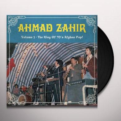 Ahmad Zahir KING OF THE 70S AFGHAN POP 3 Vinyl Record