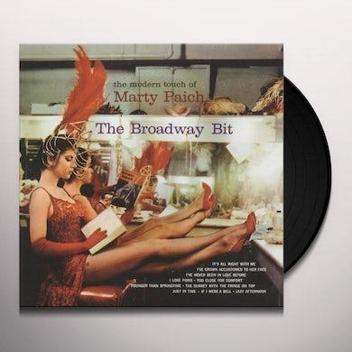 Marty Paich BROADWAY BIT Vinyl Record