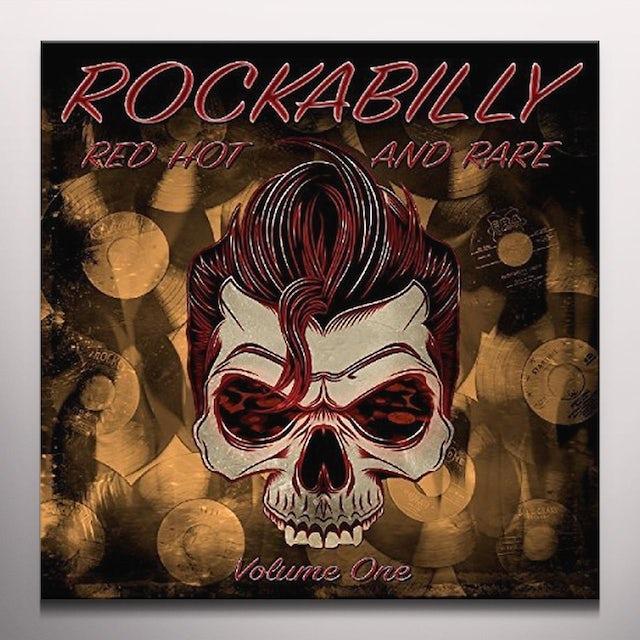 ROCKABILLY RED HOT & RARE VOL 1 / VARIOUS (COLV) ROCKABILLY RED HOT & RARE VOL 1 / VARIOUS Vinyl Record