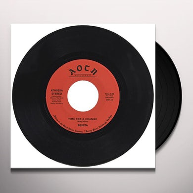 Benita TIME FOR A CHANGE Vinyl Record