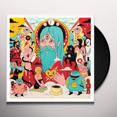 Father John Misty HOLLYWOOD FOREVER CEMETERY SING/DRIVE Vinyl Record - UK Release