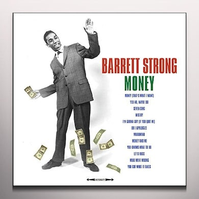 Barrett Strong VERY BEST OF (GREEN VINYL) Vinyl Record
