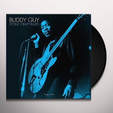 Buddy Guy STONE CRAZY BLUES (BLUE VINYL) Vinyl Record