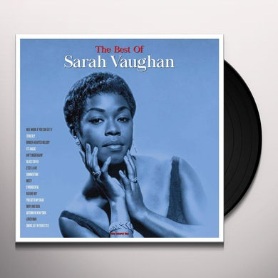Sarah Vaughan BEST OF Vinyl Record