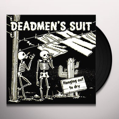 DEADMEN'S SUIT HANGING OUT TO DRY (TRANSPARENT RED VINYL) Vinyl Record