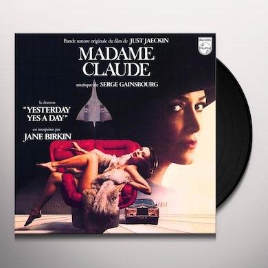 Serge Gainsbourg MADAM CLAUDE Vinyl Record