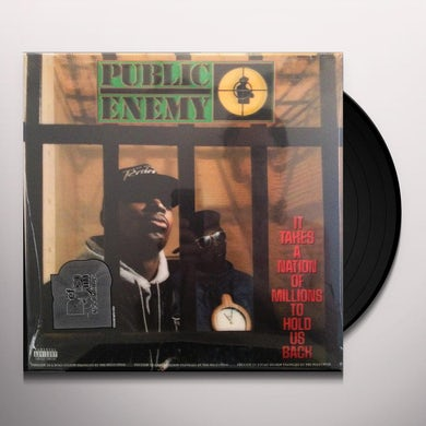 Public Enemy LP - It Takes A Nation Of Millions To Hold Us Back (Vinyl)