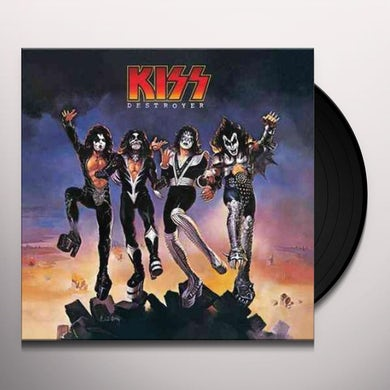 Kiss DESTROYER Vinyl Record