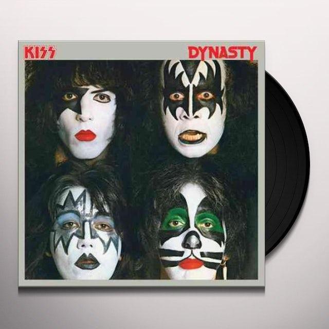 Kiss DYNASTY Vinyl Record