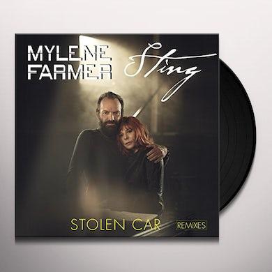 Mylène Farmer STOLEN CAR REMIXES Vinyl Record