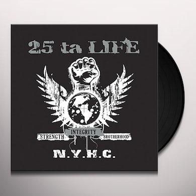 25 Ta Life STRENGTH INTEGRITY BROTHERHOOD Vinyl Record