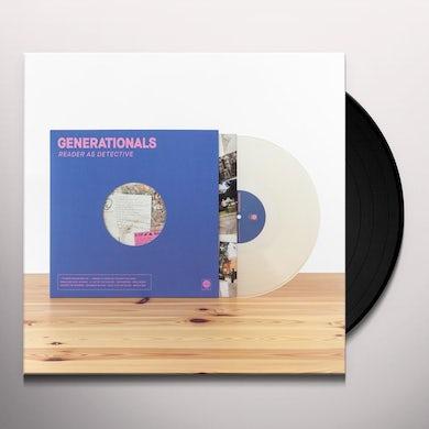 Generationals READER AS DETECTIVE Vinyl Record