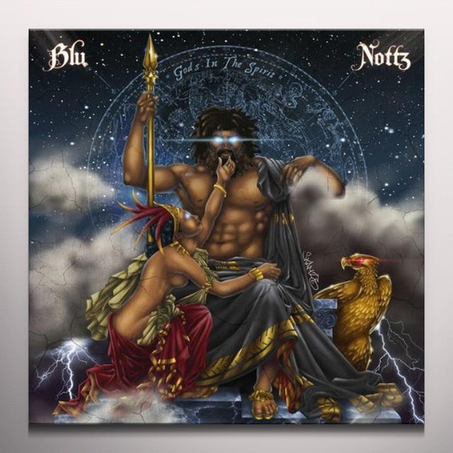 Blu & Nottz GODS IN THE SPIRIT Vinyl Record