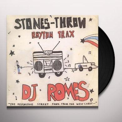 Dj Romes RHYTHM TRAX 2 Vinyl Record