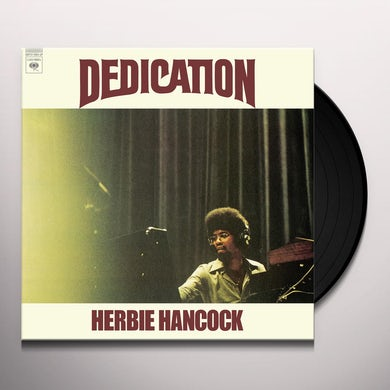 Herbie Hancock DEDICATION Vinyl Record