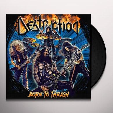 Destruction Born To Thrash (Live In Germany) Vinyl Record